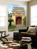 Western Entrance Gate to the Mieu Temple Inside Hue Citadel and Imperial City Prints by Nicholas Reuss