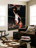 New Jersey Nets v Toronto Raptors: Linas Kleiza and Sasha Vujacic Posters by Ron Turenne