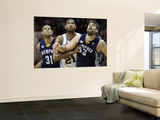 Memphis Grizzlies v San Antionio Spurs - Game Five, San Antonio, TX - APRIL 27: Tim Duncan, Shane B Art by Jed Jacobsohn