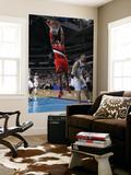 Portland Trail Blazers v Dallas Mavericks: LaMarcus Aldridge and Jason Kidd Print by Danny Bollinger