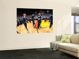 Dallas Mavericks v Miami Heat - Game Six, Miami, FL - June 12: Jason Kidd, Tyson Chandler and Dirk  Prints by Andrew Bernstein