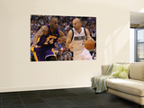 Los Angeles Lakers v Dallas Mavericks - Game Four, Dallas, TX - MAY 08: Jason Kidd and Kobe Bryant Art by Ronald Martinez