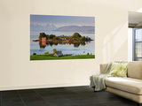 Small Island in Hardangerfjorden Nr Bergen, Western Fjords, Norway Posters by Peter Adams