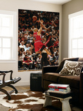 Chicago Bulls v Miami Heat, Miami, FL - March 6: Dwyane Wade and Carlos Boozer Print by Issac Baldizon