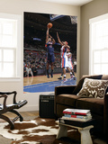 Atlanta Hawks v Detroit Pistons: Al Horford and Charlie Villanueva Poster by Allen Einstein