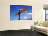 Angel of the North, Gateshead, Tyne and Wear, England Poster by Robert Lazenby