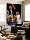 Sacramento Kings v New Orleans Hornets: Beno Udrih and David West Posters by Chris Graythen