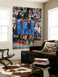 Oklahoma City Thunder v Memphis Grizzlies - Game Four, Memphis, TN - MAY 9: Russell Westbrook, Jame Posters by Joe Murphy