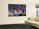 Miami Heat v Dallas Mavericks - Game Three, Dallas, TX -June 5: LeBron James and Ian Mahinmi Posters by Andrew Bernstein