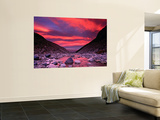 Sunset Reflected in the Waters of the Rio Blanco Print by Gareth McCormack