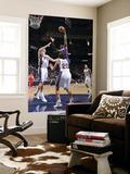 Atlanta Hawks v New Jersey Nets: Josh Smith Print by David Dow