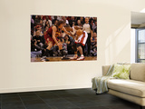 Cleveland Cavaliers  v Miami Heat: Chris Bosh and Anderson Varejao Posters by Mike Ehrmann