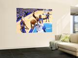 Oklahoma City Thunder v Dallas Mavericks - Game Five, Dallas, TX - MAY 25: Tyson Chandler and Serge Prints by Ronald Martinez
