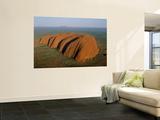 Uluru, Kata Tjuta National Park, Northern Territory, Australia Print by Steve Vidler