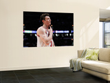 Miami Heat v Chicago Bulls - Game Two, Chicago, IL - MAY 18: Omer Asik Print by Gregory Shamus