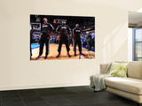 Miami Heat v Dallas Mavericks - Game Five, Dallas, TX -June 9: Dwyane Wade, LeBron James and Chris  Prints by Andrew Bernstein