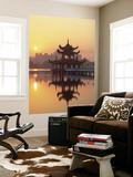 Taiwan, Kaohsiung, Lotus Lake at Sunset Prints by Steve Vidler