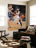Minnesota Timberwolves v Denver Nuggets: Ty Lawson and Luke Ridnour Prints by Garrett Ellwood