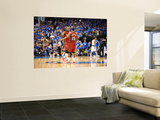 Miami Heat v Dallas Mavericks - Game Three, Dallas, TX -June 5: Mario Chalmers and Udonis Haslem Prints by Garrett Ellwood