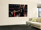 Miami Heat v Washington Wizards: LeBron James and Chris Bosh Prints by Greg Fiume