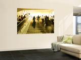 Communters in Pedestrian Stairway Posters by David Hannah