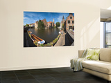Belfort and River Dijver, Bruges, Flanders, Belgium Prints by Alan Copson