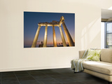 The Temple of Apollon at Night Prints by Izzet Keribar
