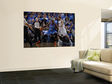 Oklahoma City Thunder v Dallas Mavericks - Game One, Dallas, TX - MAY 17: Kendrick Perkins and Dirk Prints by Danny Bollinger