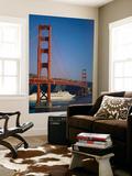 Golden Gate Bridge and Cruise Ship, San Francisco, California, USA Print by Steve Vidler