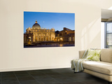 St. Peter's Basilica, The Vatican, Rome, Italy Print by Michele Falzone