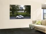 1970's Porsche 911, Riverside Park, Frankfurt-Am-Main, Hessen, Germany Posters by Walter Bibikow