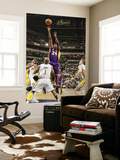 Los Angeles Lakers v Indiana Pacers: Kobe Bryant and Dahntay Jones Poster by Ron Hoskins