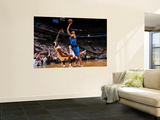 Dallas Mavericks v Miami Heat - Game Six, Miami, FL - June 12: Tyson Chandler and LeBron James Posters by Andrew Bernstein