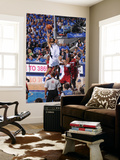 Miami Heat v Dallas Mavericks - Game Three, Dallas, TX -June 5: Tyson Chandler and Chris Bosh Art by Andrew Bernstein