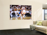 Dallas Mavericks v Miami Heat - Game Six, Miami, FL - June 12: Jose Barea and Eddie House Print by Garrett Ellwood