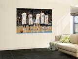 Oklahoma City Thunder v Denver Nuggets - Game Three, Denver, CO - APRIL 23: J.R. Smith, Raymond Fel Prints by Doug Pensinger