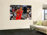 Chicago Bulls v Atlanta Hawks - Game Six, Atlanta, GA - MAY 12: Derrick Rose Art by Kevin Cox