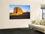 Rock Hewn Qasr Al-Farid Tomb at Nabataean City Prints by Anthony Ham