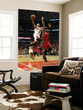 Miami Heat v Chicago Bulls - Game Five, Chicago, IL - MAY 26: Derrick Rose and Dwyane Wade Prints by Jonathan Daniel