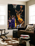 Los Angeles Lakers v New Orleans Hornets - Game Three, New Orleans, LA - APRIL 22: Trevor Ariza and Poster by Chris Graythen