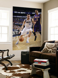 Los Angeles Lakers v Dallas Mavericks - Game Three, Dallas, TX - MAY 6: Peja Stojakovic and Matt Ba Print by Danny Bollinger