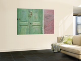 Complementary Colours Adorning Doorway in Tangier Medina Prints by Orien Harvey