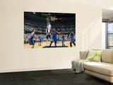 Oklahoma City Thunder v Memphis Grizzlies - Game Six, Memphis, TN - MAY 13: O.J. Mayo and Thabo Sef Print by Layne Murdoch
