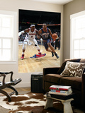 Charlotte Bobcats v Atlanta Hawks: Boris Diaw and Josh Smith Posters by Scott Cunningham