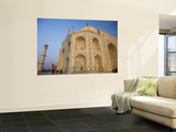 Low Angle View of Taj Mahal at Dawn Prints by Andrew Bain