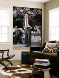 Portland Trail Blazers v Dallas Mavericks - Game One, Dallas, TX - APRIL 16: Rick Carlisle Prints by Glenn James