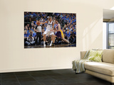 Los Angeles Lakers v Dallas Mavericks - Game Four, Dallas, TX - MAY 8: Dirk Nowitzki and Pau Gasol Posters by Glenn James
