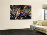 New York Knicks v Boston Celtics - Game Two, Boston, MA - April 19: Carmelo Anthony and Ray Allen Prints