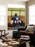 Captain America V4, No.22 Cover: Captain America Prints by Dave Johnson