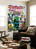 The Fantastic Four No.3 Cover: Mr. Fantastic Prints by Jack Kirby